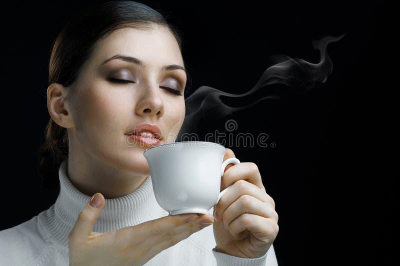 Aromatische koffie royalty-vrije stock fotografie
