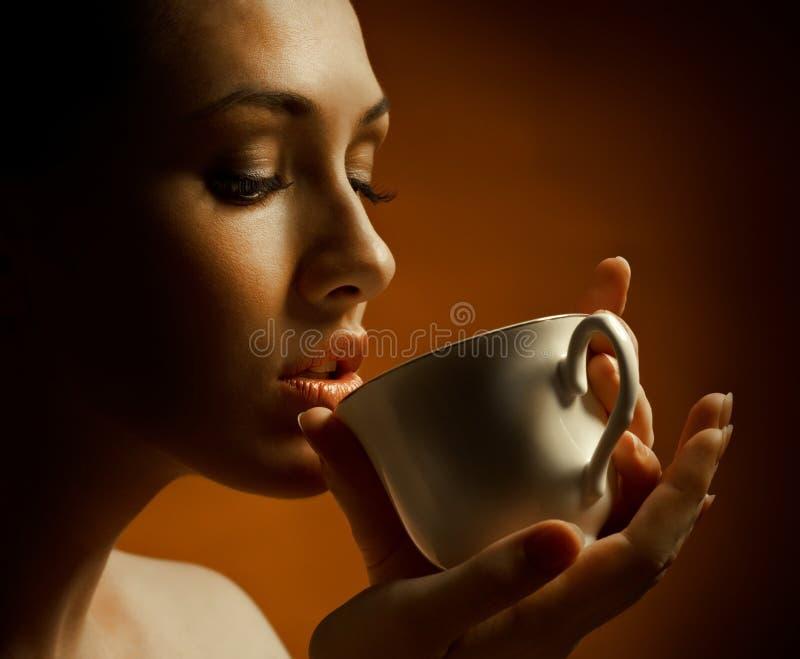 Aromatische koffie stock foto's