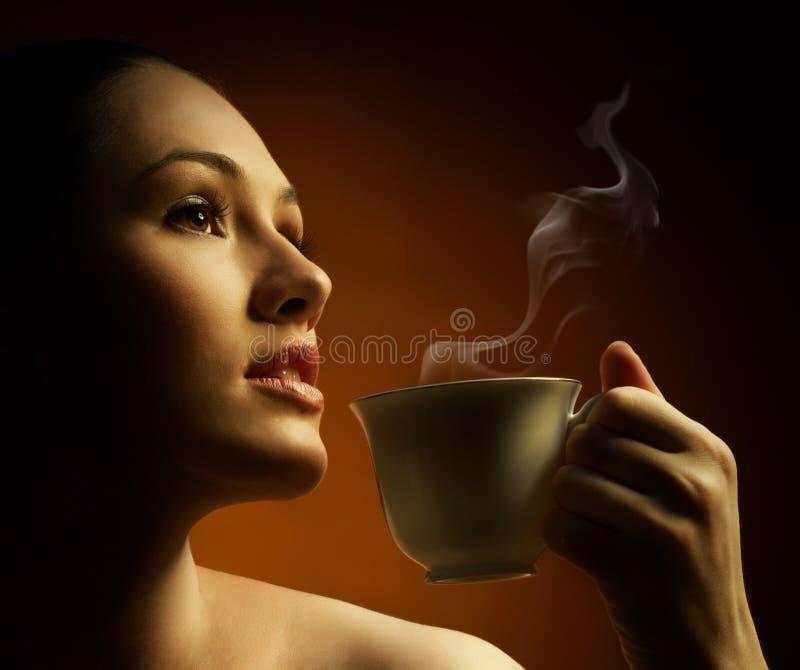 Aromatische koffie royalty-vrije stock foto's