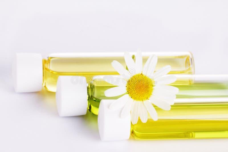 Aromatische organische olie stock afbeelding