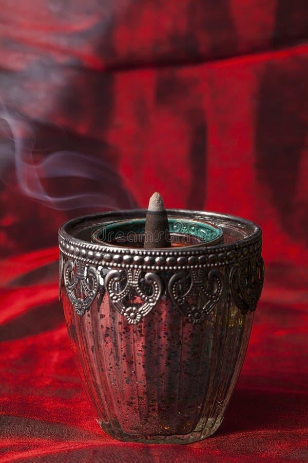 Aromatische wierookkegels royalty-vrije stock afbeelding