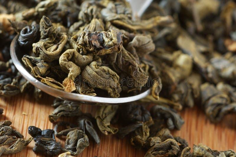 Aromatisierter grüner Tee lizenzfreie stockfotografie