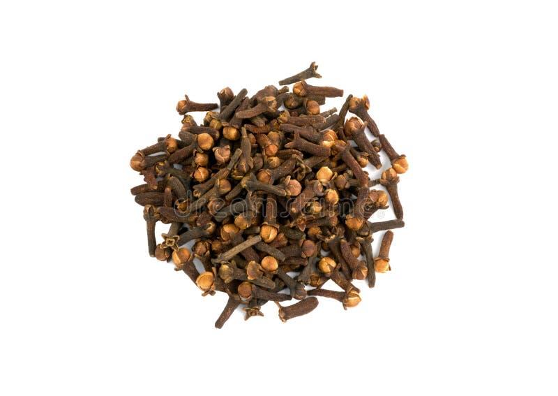 Aromatiska kryddnejlikakryddor royaltyfri fotografi