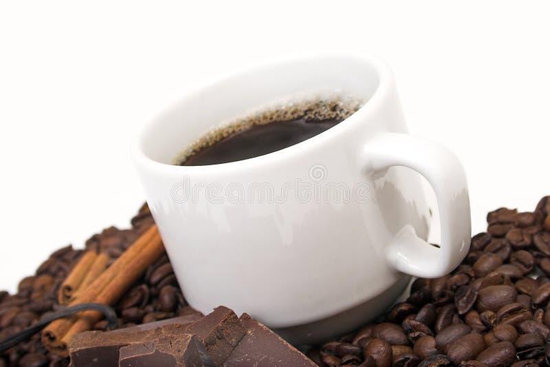 aromatiskt kaffe fotografering för bildbyråer