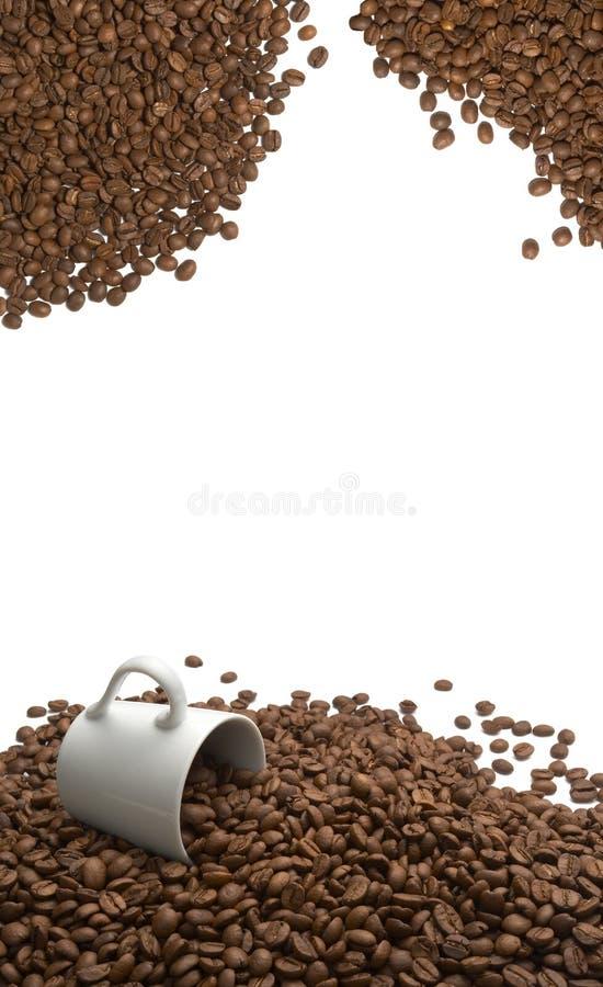arombönakaffe arkivbild