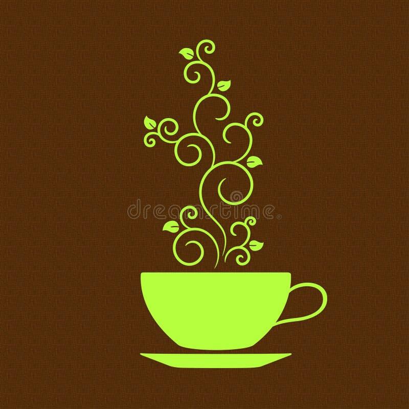 Arome de thé illustration stock
