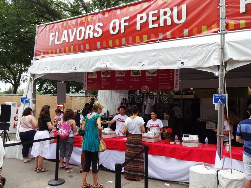 Aromen von Peru lizenzfreies stockbild