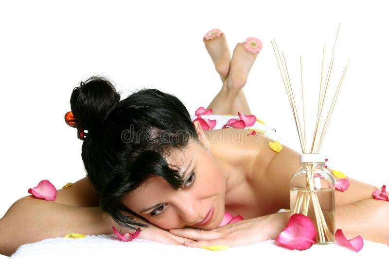 arommassage arkivfoto