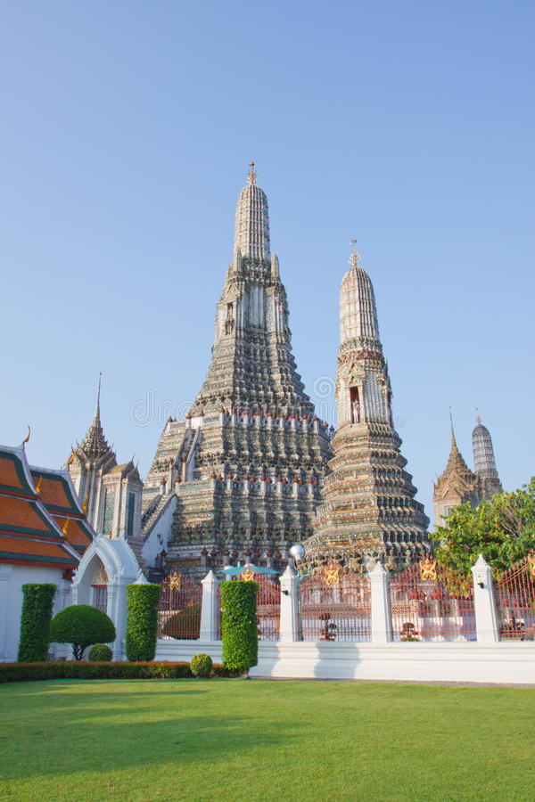 aroon Bangkok punkt zwrotny Thailand wat fotografia stock