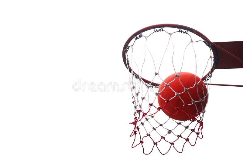 Aros de basquetebol fotos de stock