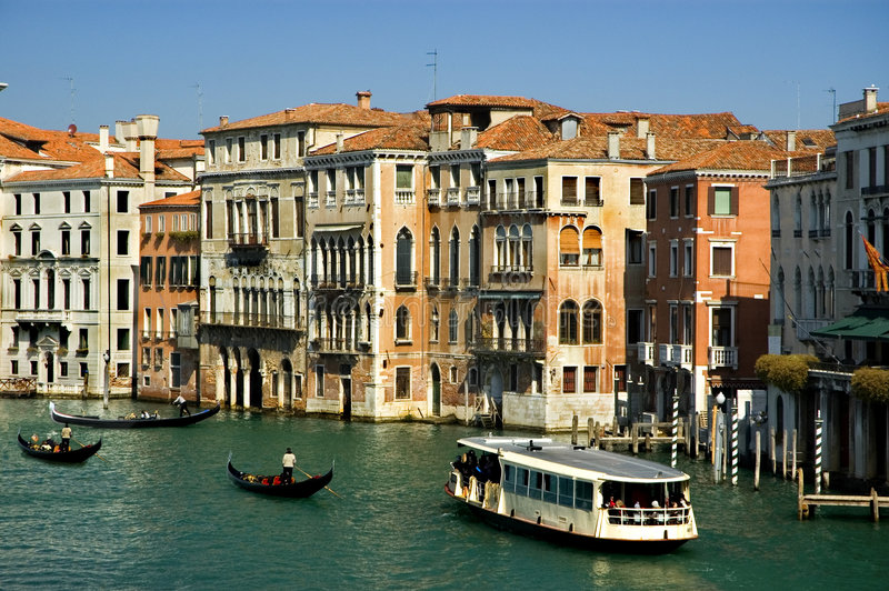 Around the Grand Canal, Venice royalty free stock photo