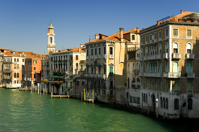Download Around The Grand Canal, Venice Stock Photo - Image: 129026