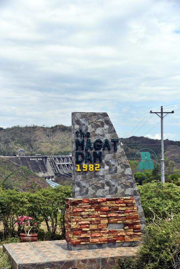 Magat Dam, Santiago city, Isabela, Philippines, April 15, 2019, Around the Magat Dam located in the Cagayan city, Isabela,. Around the Magat Dam located in the stock image