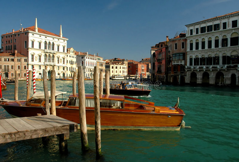 Around the Streets of Venice stock photography