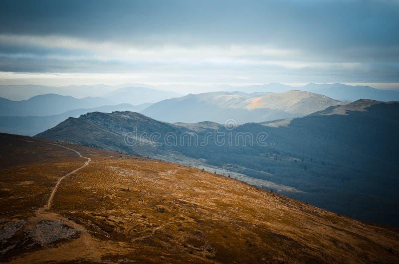 Arpathian bergen Ð ¡ royalty-vrije stock foto's