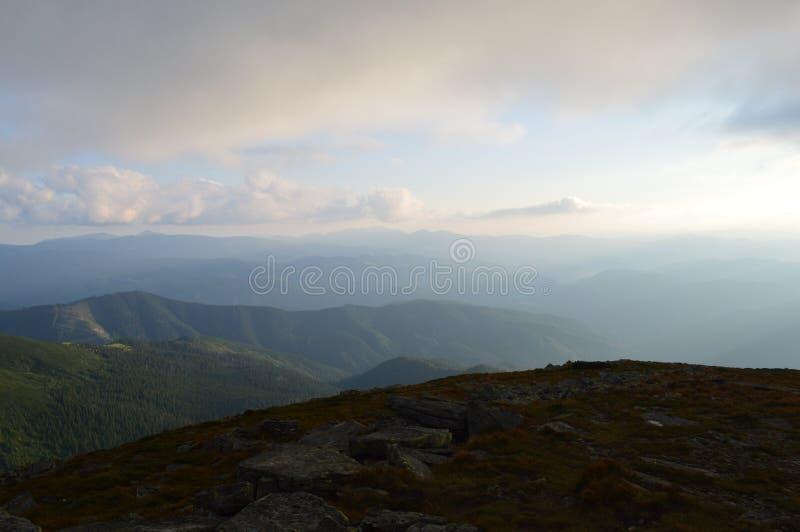 Arpathians del ¡ di Ð fotografie stock libere da diritti
