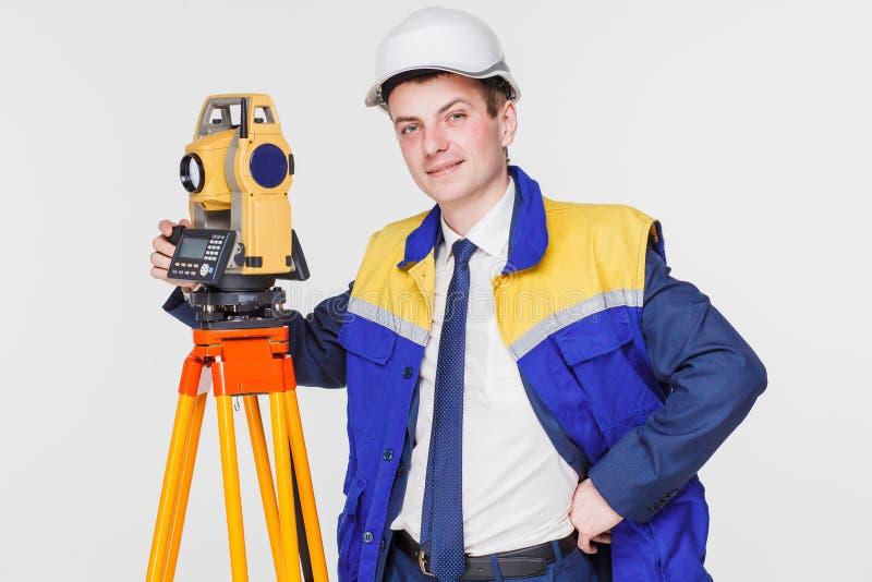 Arpenteur d'ingénieur photo libre de droits