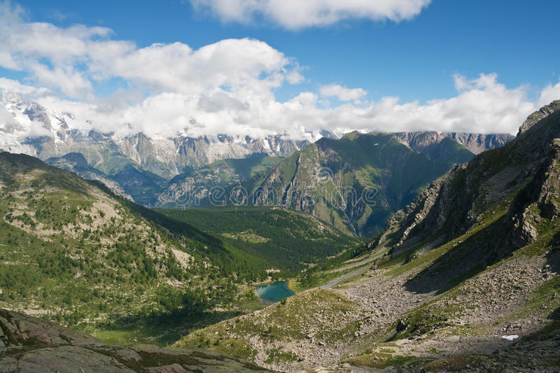 Download Arpy Valley stock image. Image of nature, mountain, landscape - 17254085