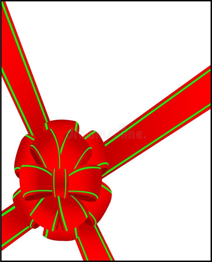 Arqueamiento de la Navidad imagen de archivo