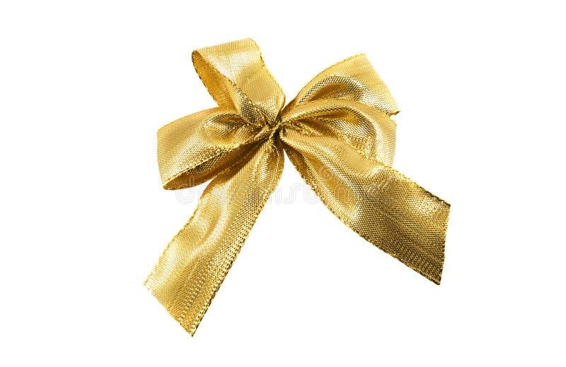 Arqueamiento del oro imagen de archivo libre de regalías