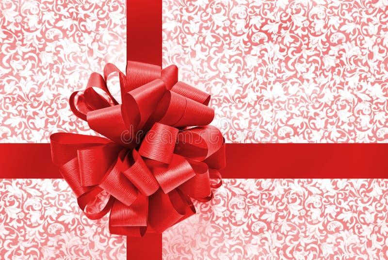 Arqueamiento y cinta rojos fotografía de archivo libre de regalías