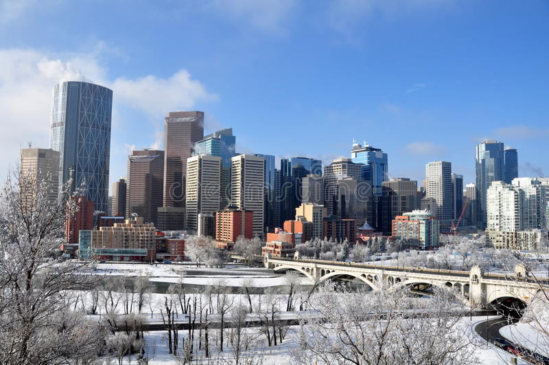 Calgary, torre del arco imagen de archivo libre de regalías