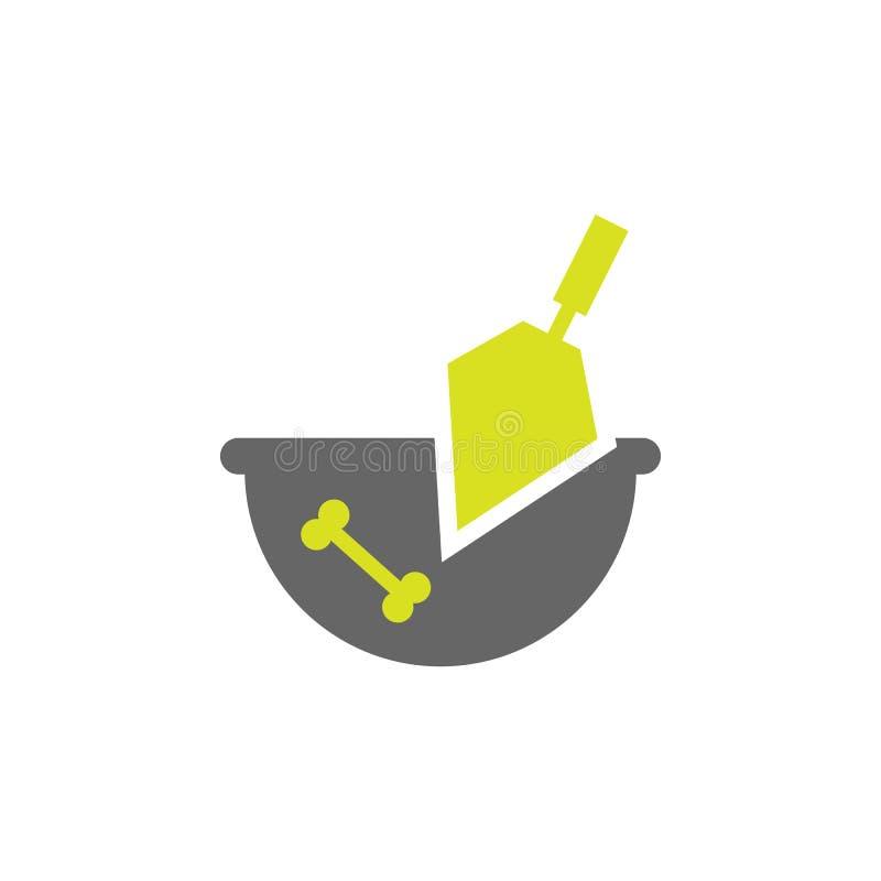 Arqueología, icono del artefacto Elemento del icono del experimento de la ciencia para los apps móviles del concepto y de la web  stock de ilustración