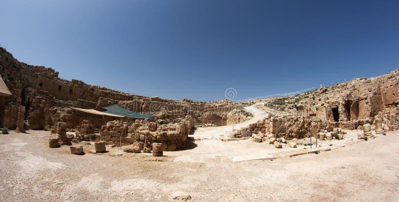 Arqueologia de Israel imagens de stock royalty free