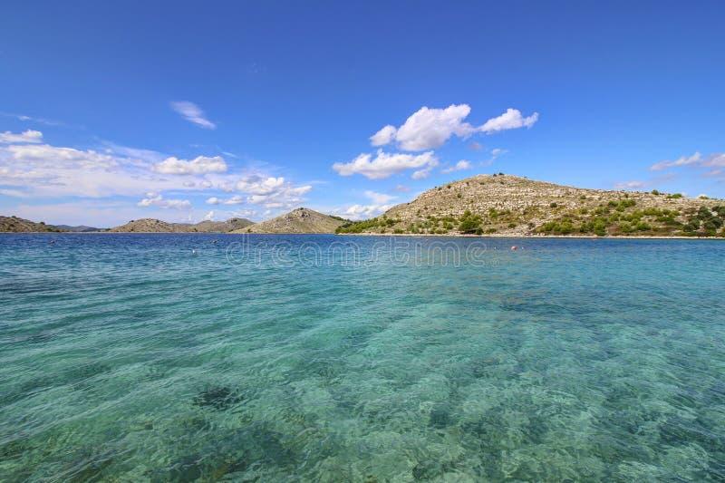 Arquipélago - água de cristal fotografia de stock