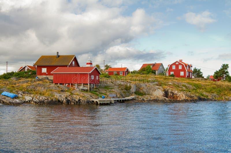 Arquipélago de Éstocolmo. fotografia de stock royalty free