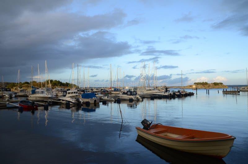 Arquipélago de Gothenburg imagem de stock royalty free