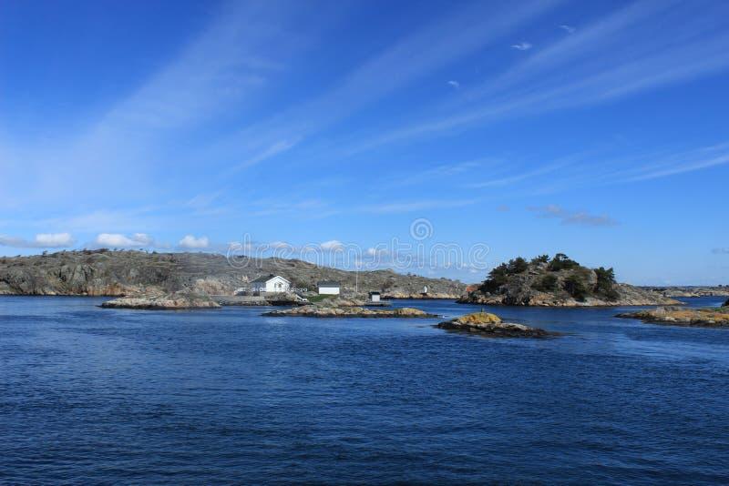 Arquipélago de Gothenburg, Suécia, fundo do mar, oceano, Atlântico, Escandinávia imagem de stock