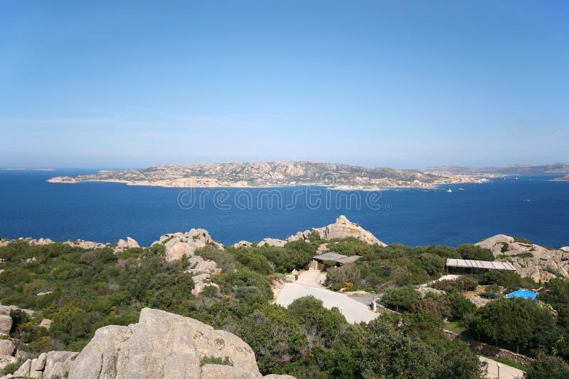 Arquipélago de Maddalena do La, Sardinia (Itália) imagens de stock royalty free