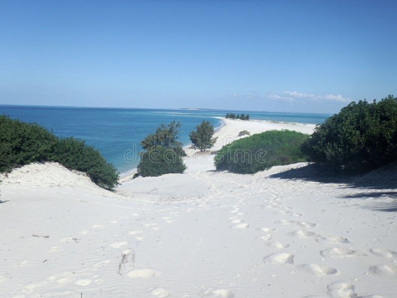 Arquipélago de Moçambique Bazaruto foto de stock
