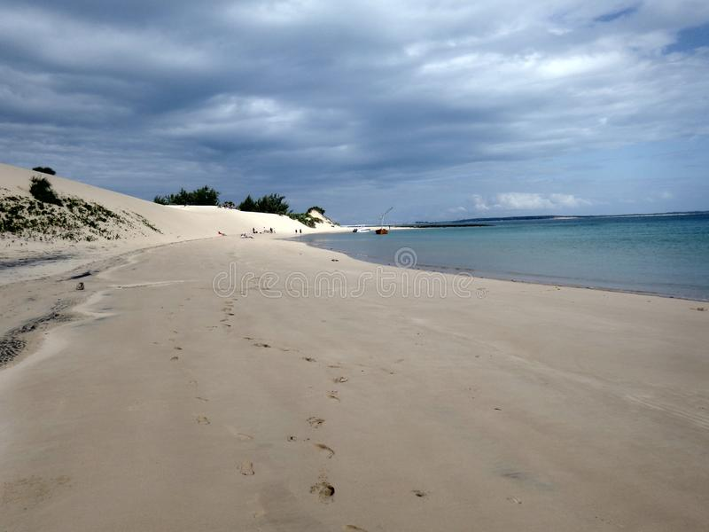 Arquipélago de Moçambique Bazaruto foto de stock royalty free
