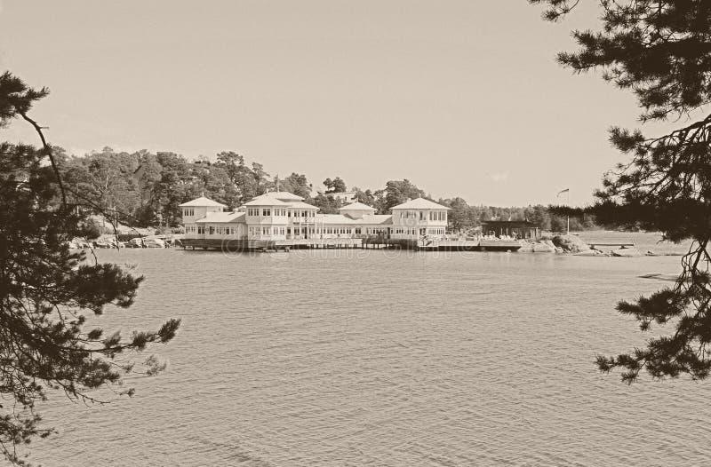 Arquipélago de Nynäshamn fotos de stock