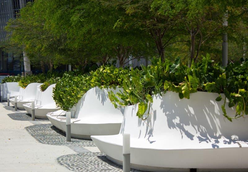 ArquitectonicaGEO landscape, Perez Art Museum, Miami stock photo