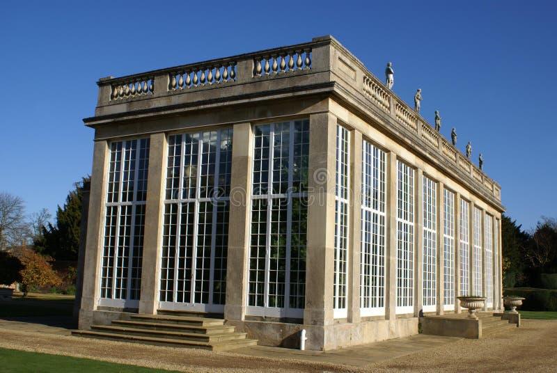 Arquitectura adornada del jardín imagen de archivo