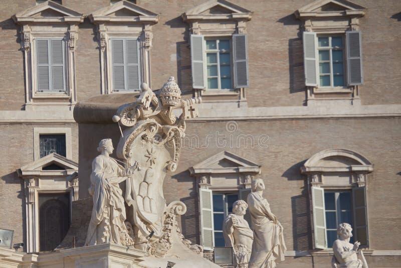 Arquitectura antigua de Roma imágenes de archivo libres de regalías