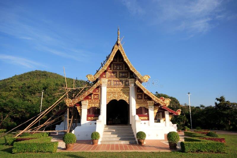 Arquitectura antigua de Tailandia fotografía de archivo libre de regalías