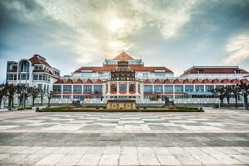Arquitectura báltica de Sopot fotografía de archivo libre de regalías