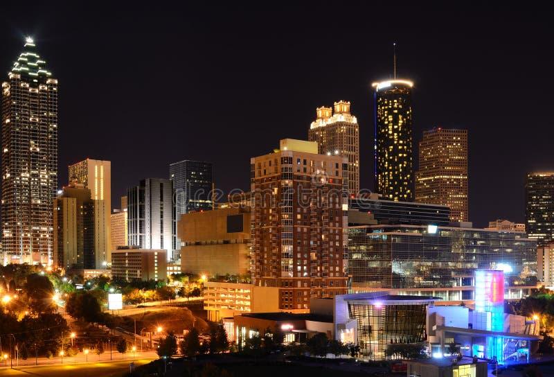 Arquitectura da cidade de Atlanta imagem de stock
