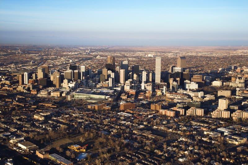 Arquitectura da cidade de Denver, Colorado, EUA. fotos de stock royalty free
