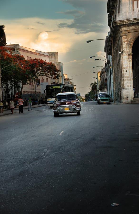 Arquitectura da cidade de Havana fotos de stock royalty free