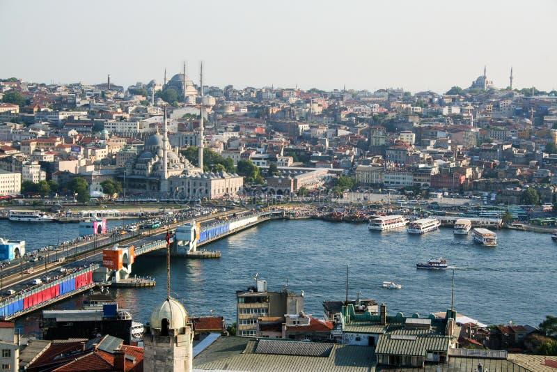 Arquitectura da cidade de Istambul foto de stock royalty free