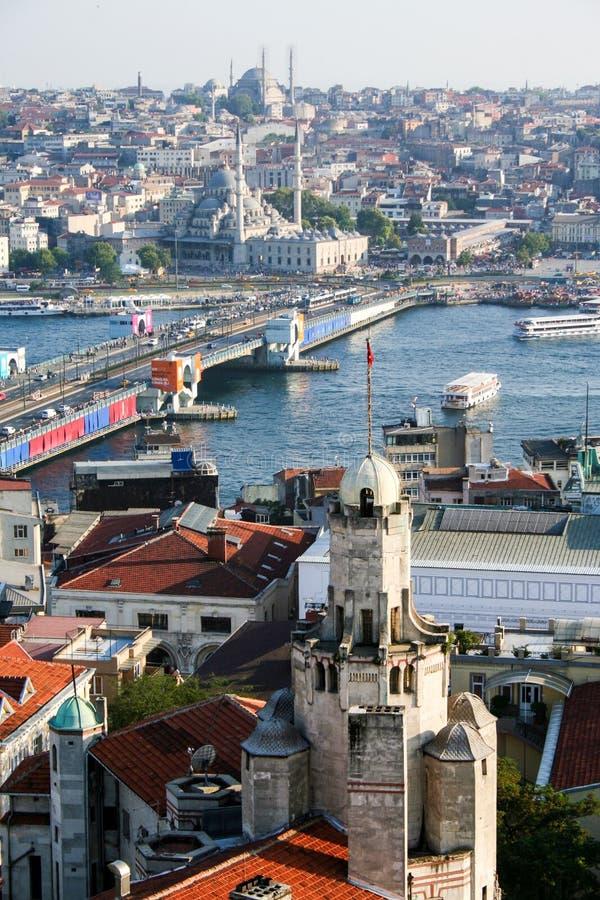 Arquitectura da cidade de Istambul imagem de stock