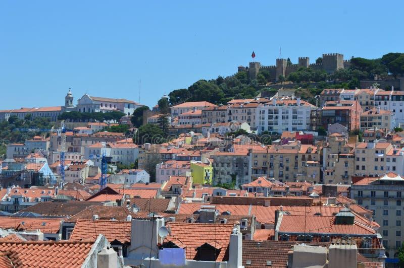 Arquitectura da cidade de Lisboa fotos de stock royalty free