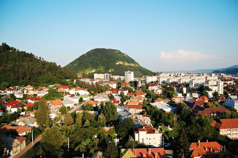 Arquitectura da cidade de Piatra Neamt foto de stock royalty free