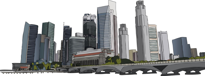 Arquitectura da cidade de Singapore