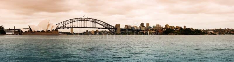 Arquitectura da cidade de Sydney imagem de stock royalty free